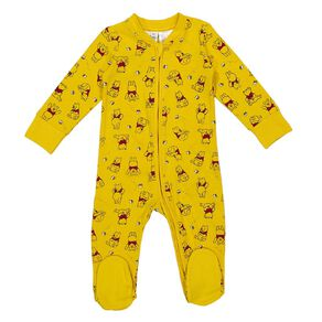 Winnie the Pooh 2 Way Zip All In One