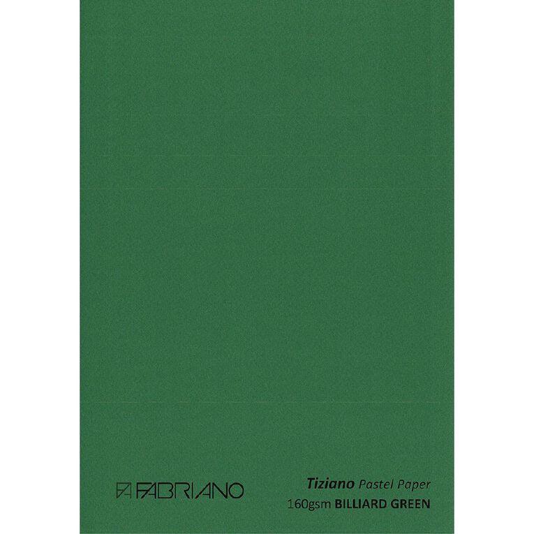Fabriano Tiziano Pastel Paper 50cm x 65cm Billiard Green, , hi-res