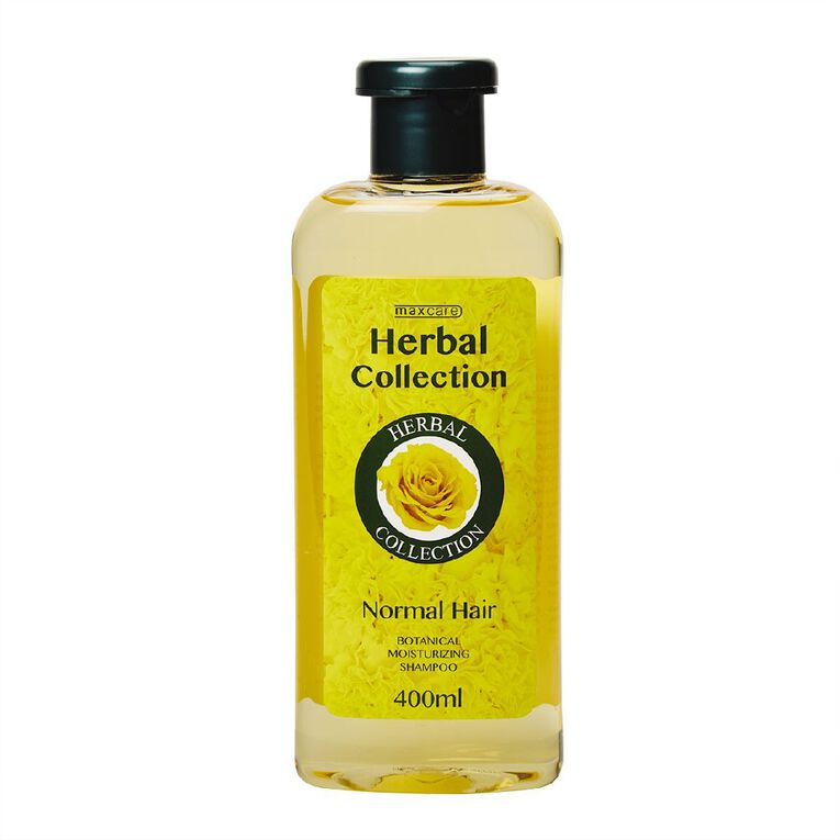Maxcare Herbal Collection Shampoo Normal Hair 400ml, , hi-res