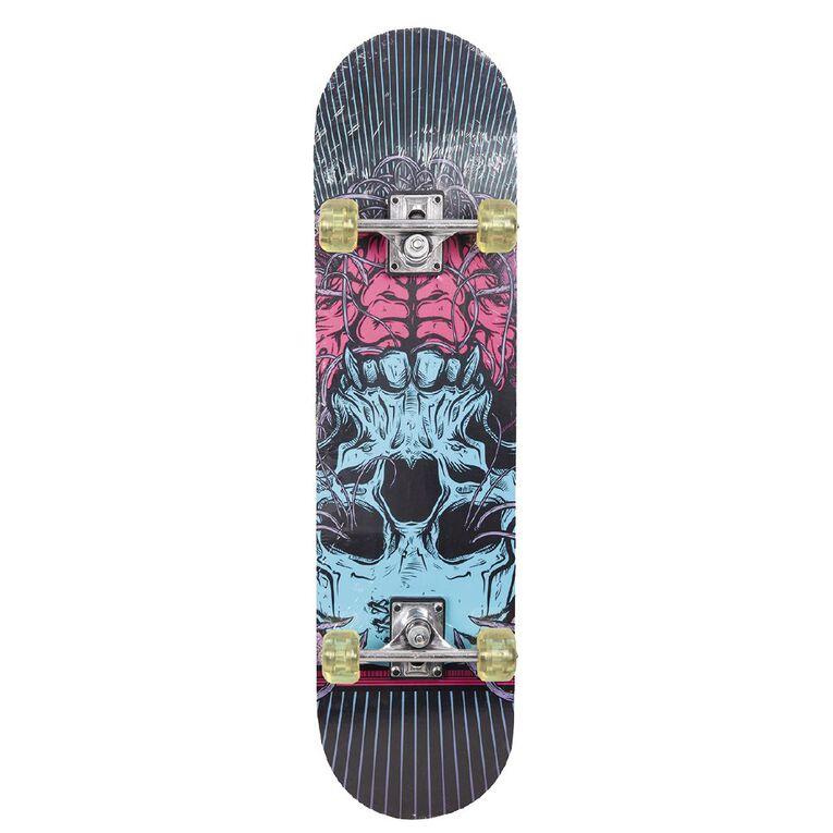 Milazo Skull Skateboard 31 inch, , hi-res