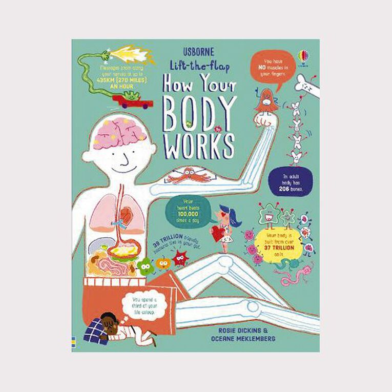 Lift The Flap: How Your Body Works by Rosie Dickins, , hi-res image number null