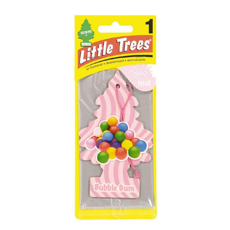 Little Trees Hanging Car Air Freshener Bubble Gum Scent, , hi-res
