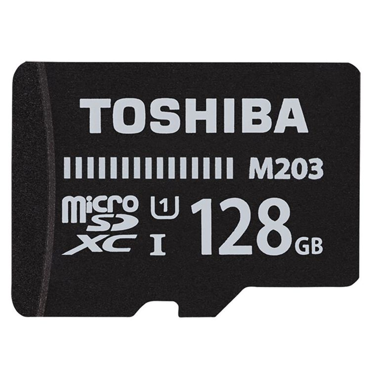 Toshiba 128GB Micro SD Card With Adapter, , hi-res