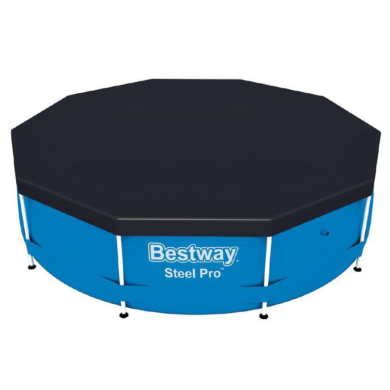 Bestway Steel Pro Pool Cover 10ft, , hi-res
