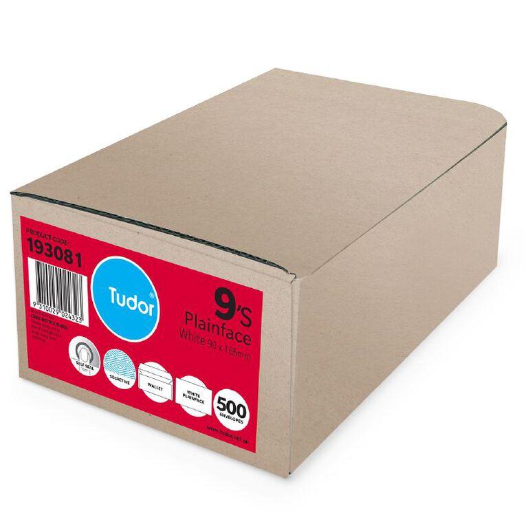 Tudor Envelope E9 Non Window Self Seal 500 Box, , hi-res