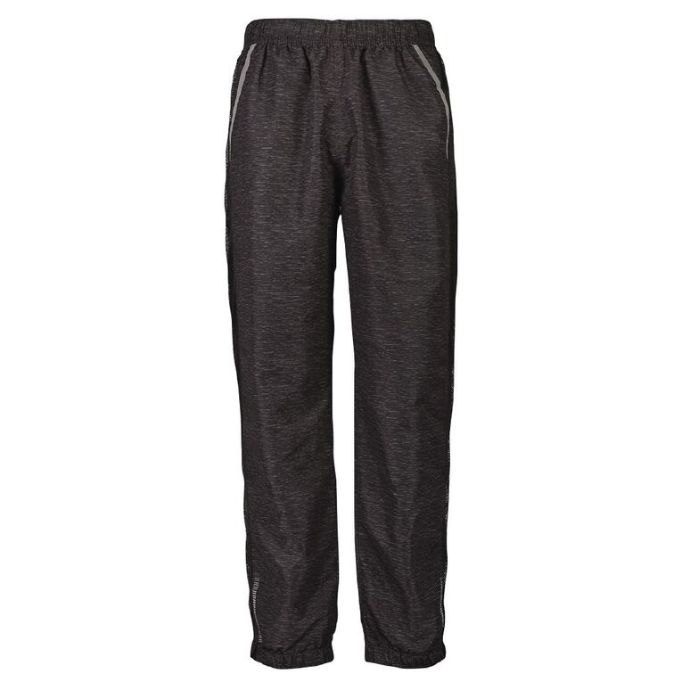 Active Intent Men's Woven Marle Pants, Charcoal, hi-res image number null