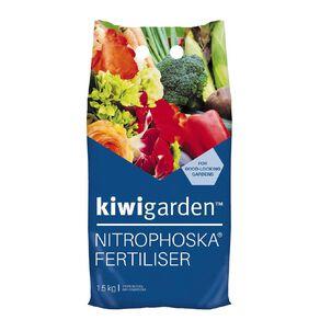 Kiwi Garden Nitrophoska Fertiliser 1.5kg