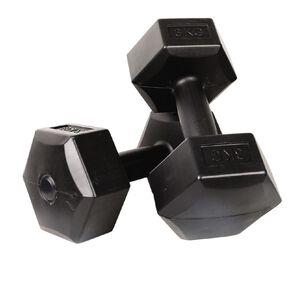 Active Intent Fitness Vinyl Dumbbell 3kg 2 Piece