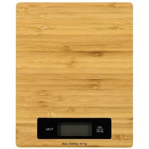 Living & Co Bamboo Digital Scale 5kg