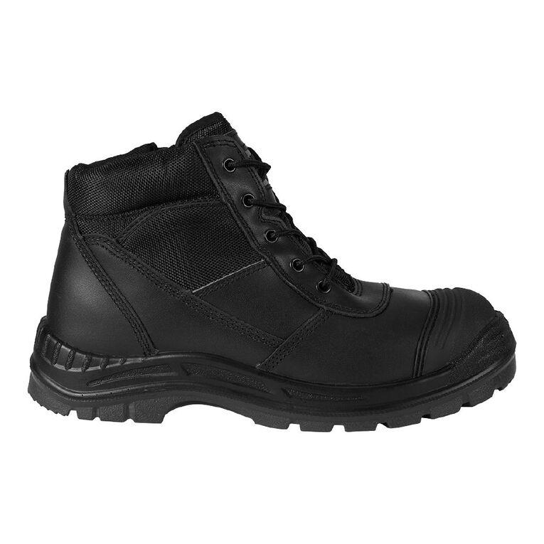 Rivet Octave Work Boots, Black, hi-res image number null