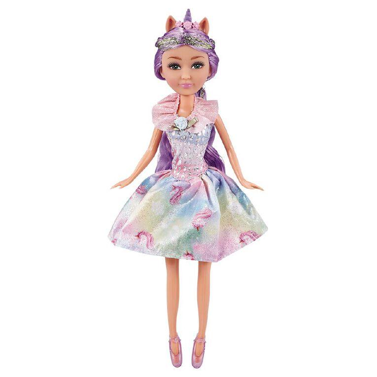 Zuru Sparkle Girlz Unicorn Princess in Cone Assorted, , hi-res image number null