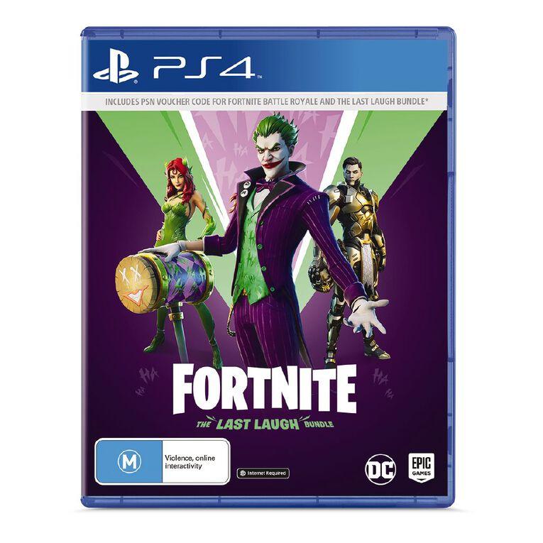 PS4 Fortnite The Last Laugh Bundle, , hi-res