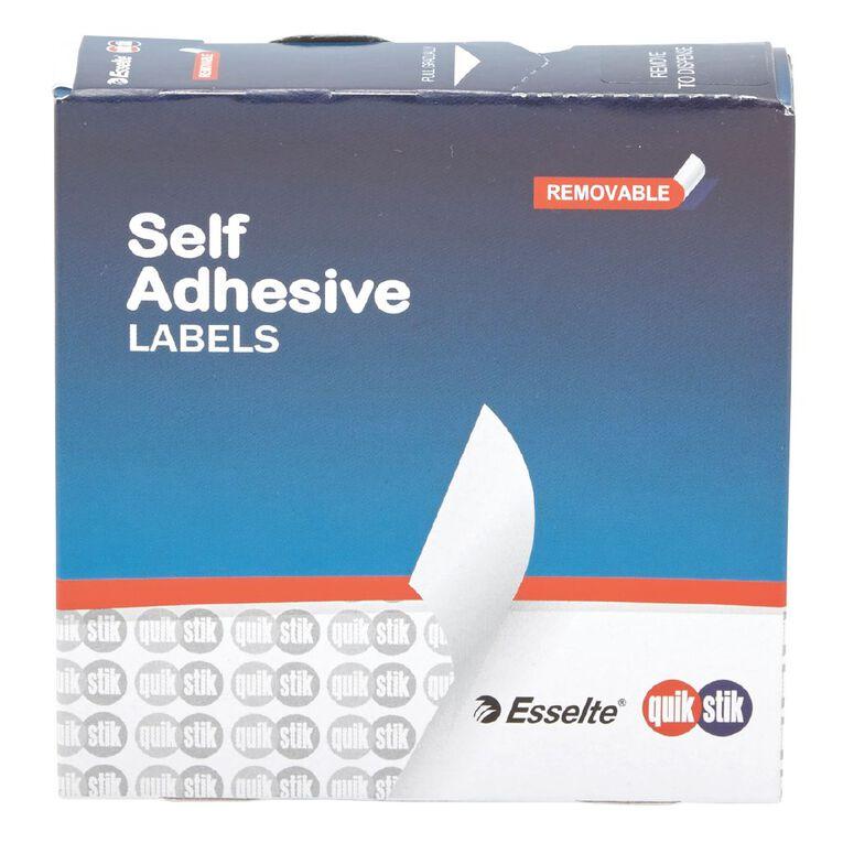 Quik Stik Labels Rectangular Label Dispenser Pack 19x63mm 280 Pack, , hi-res