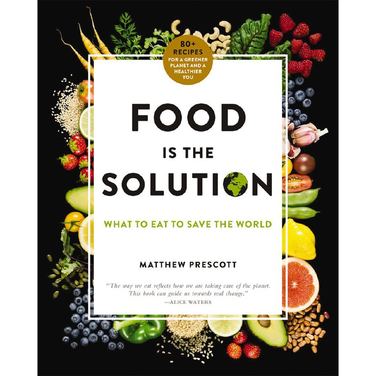 Food is the Solution by Matthew Prescott, , hi-res