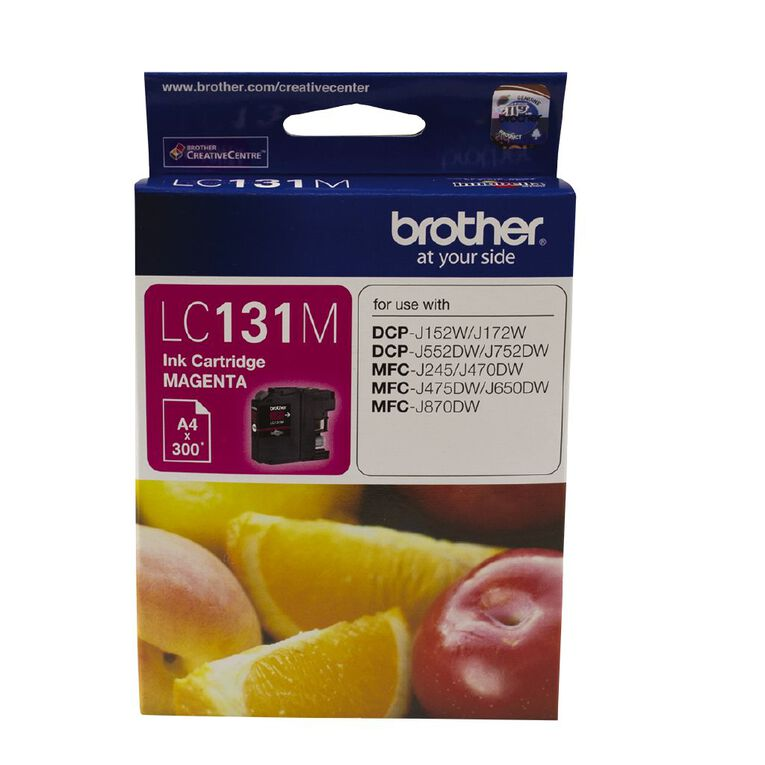 Brother Ink LC131 Magenta (300 Pages), , hi-res