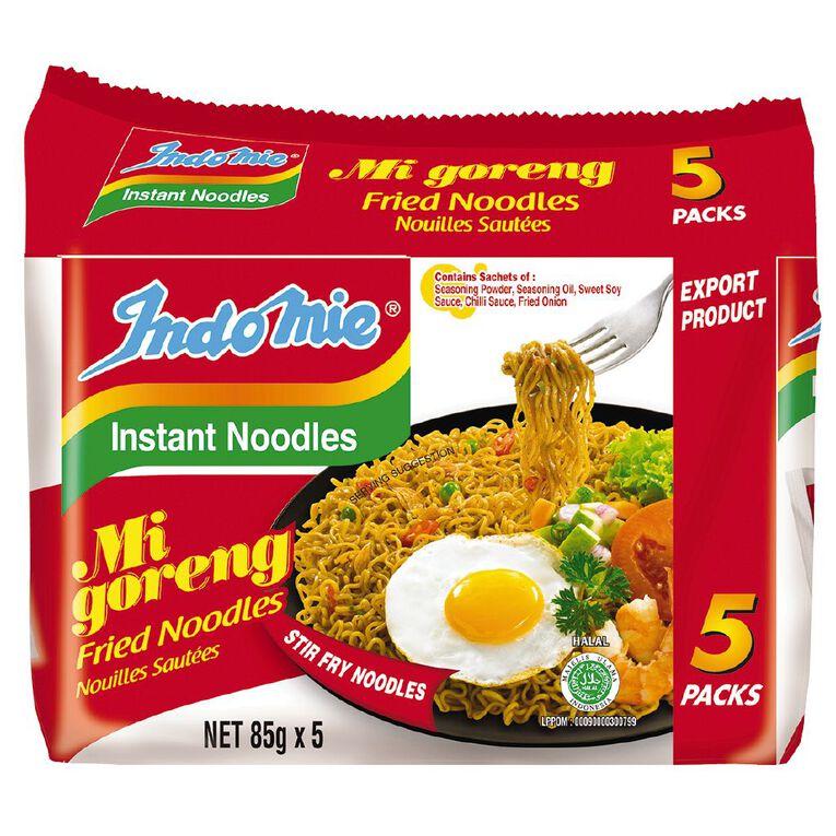 Indomie Mi Goreng Fried Noodle 5 Pack, , hi-res