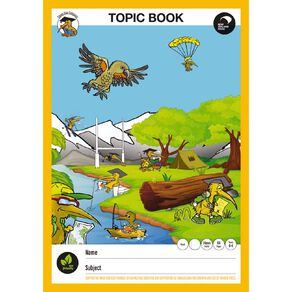 Clever Kiwi Topic Book