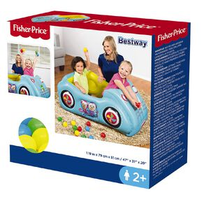 Fisher-Price Bestway Inflatable Car Ball Pit