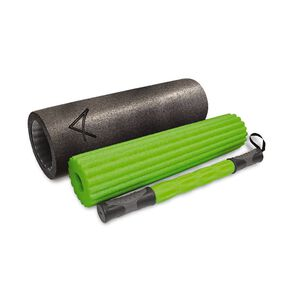 Active Intent Fitness 3-in-1 Foam Roller Black One Size