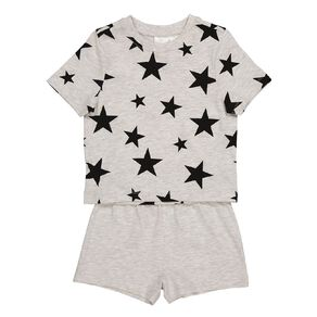 H&H Kids' Short Sleeve Knit Pyjama Set