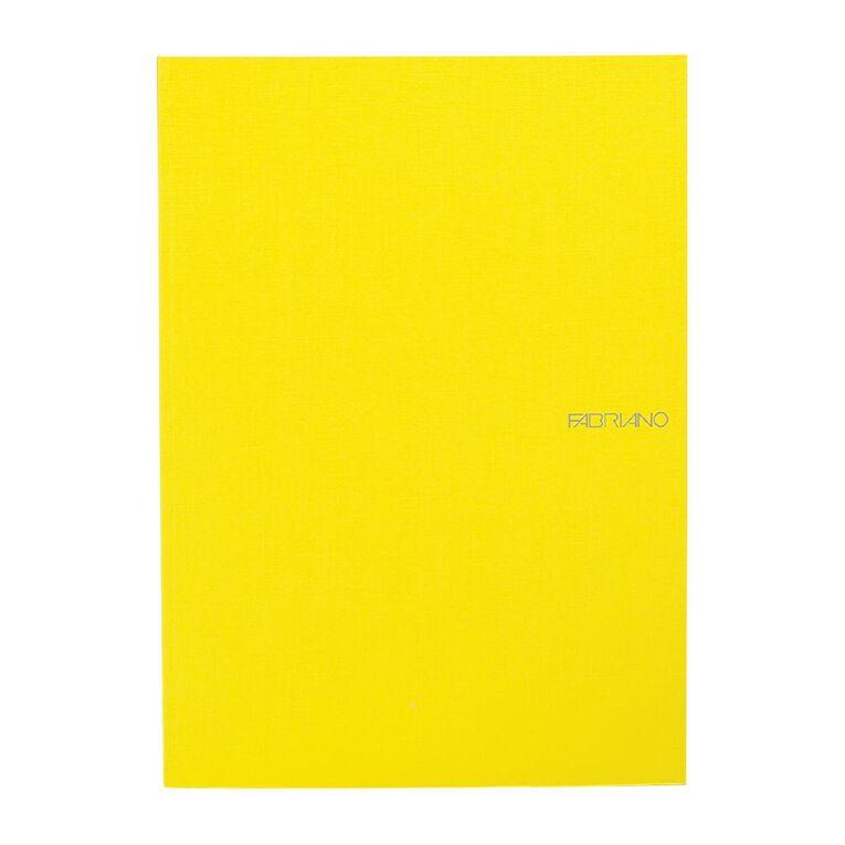 Fabriano Ecoqua Sketchbook Dotted 85GSM 90 Sheets Lemon A4, , hi-res