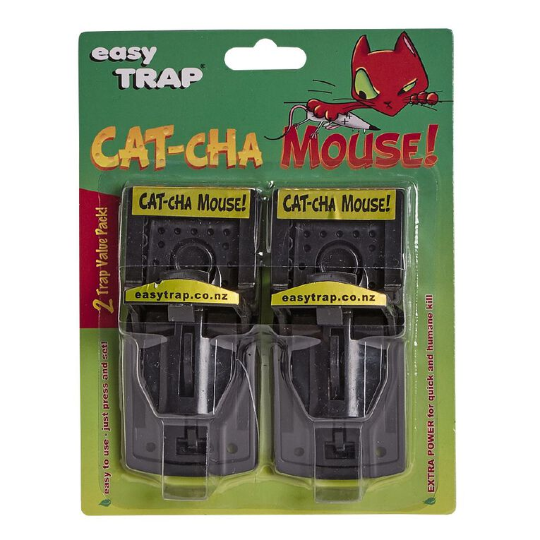 Easy Trap Catcha Mouse Trap 2 Pack, , hi-res
