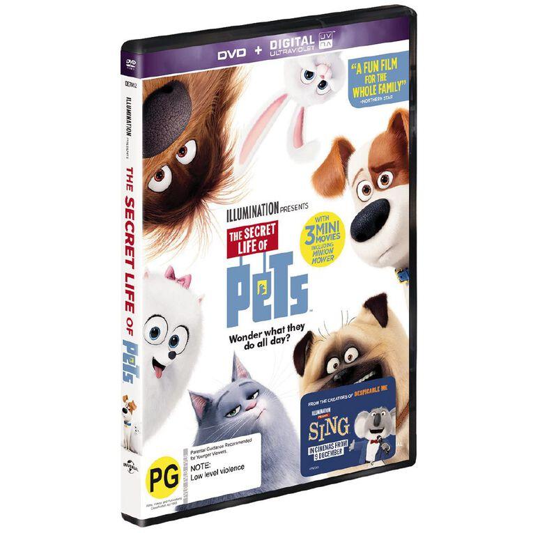 The Secret Life Of Pets DVD 1Disc, , hi-res