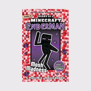 Minecraft Enderman #4 Mosh Madness by Zack Zombie
