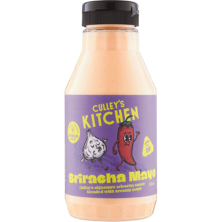 Culleys Kitchen Sriracha Mayo 350ml, , hi-res