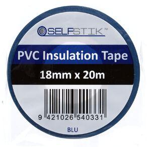 Pomona Insulation Tape PVC Electrical  18mm x 20m Blue
