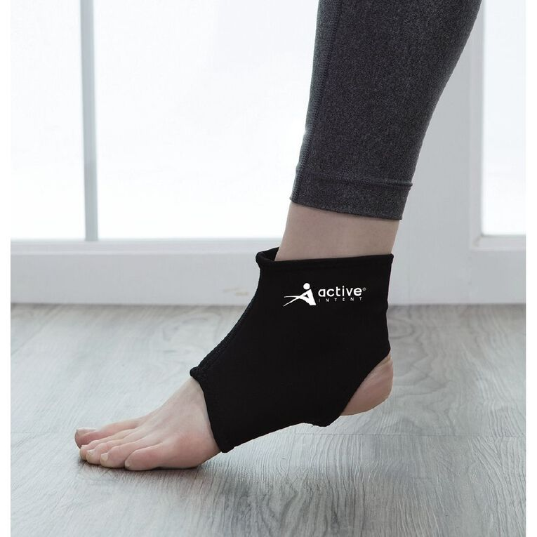 Active Intent Fitness Neoprene Ankle Support, , hi-res