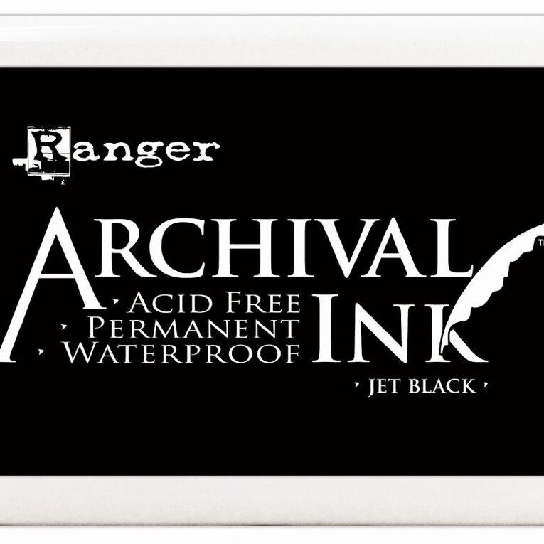 Ranger Stamp Pad Large Black, , hi-res
