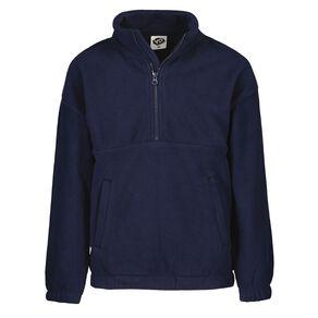 Young Original Microfibre Zip Funnel Sweatshirt