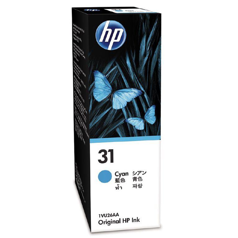 HP Ink 31 Cyan 70ML (8000 Pages), , hi-res