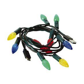 Christmas Light USB-C Cable 1m