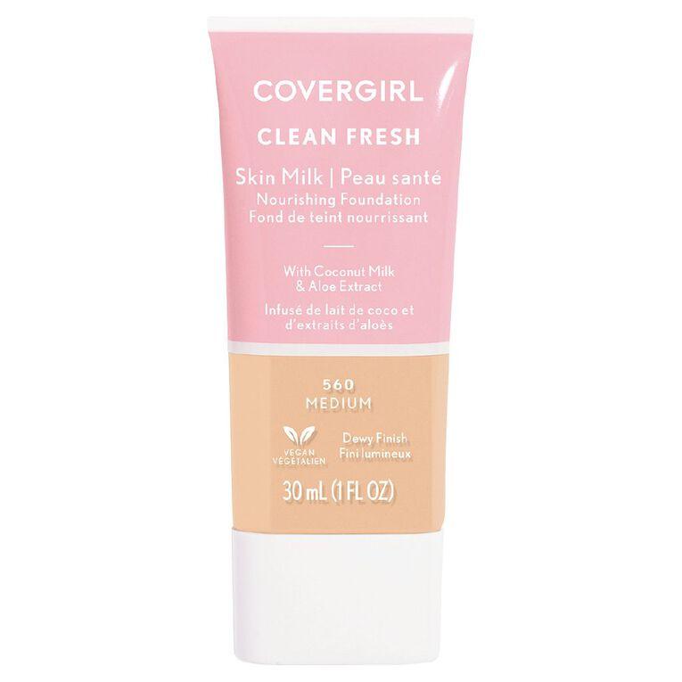 Covergirl Clean Fresh Skin Milk Medium 560 30ml, , hi-res