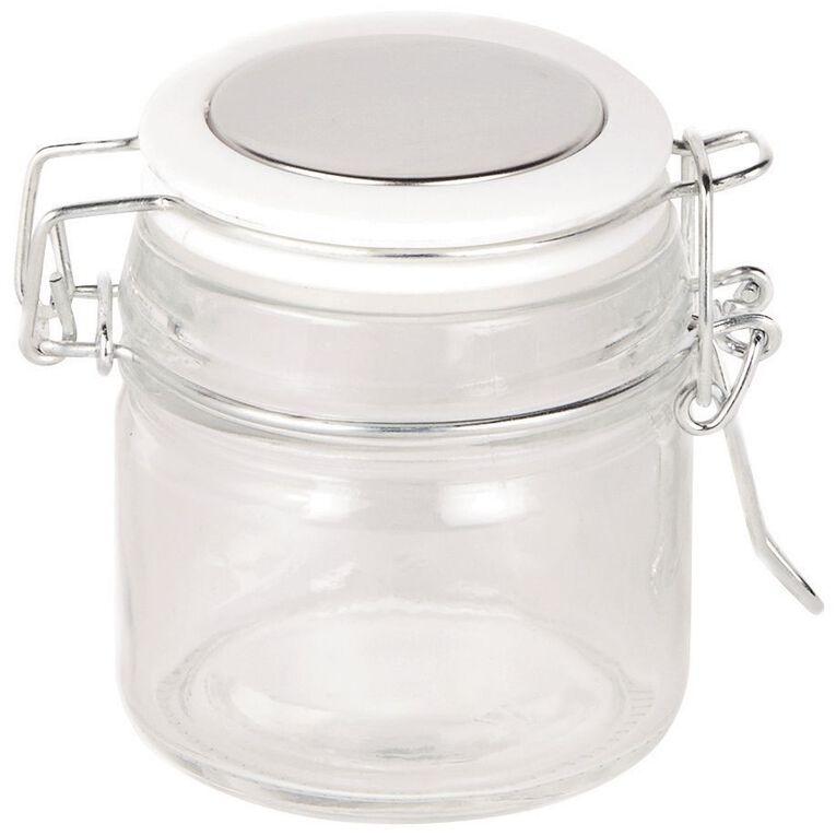 Living & Co Food Storage Mini Brights Cliptop White 100ml, , hi-res