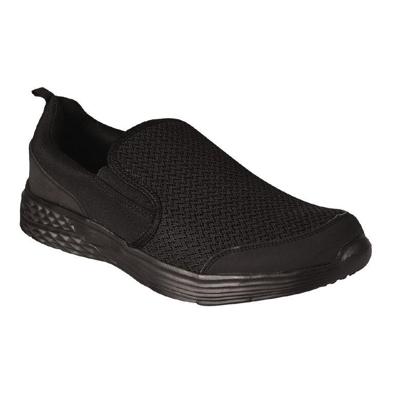 Active Intent Trang Slip On Memory Foam Shoes, Black, hi-res