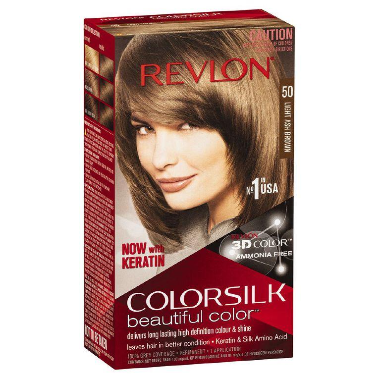 Revlon Colorsilk Light Ash Brown 50, , hi-res