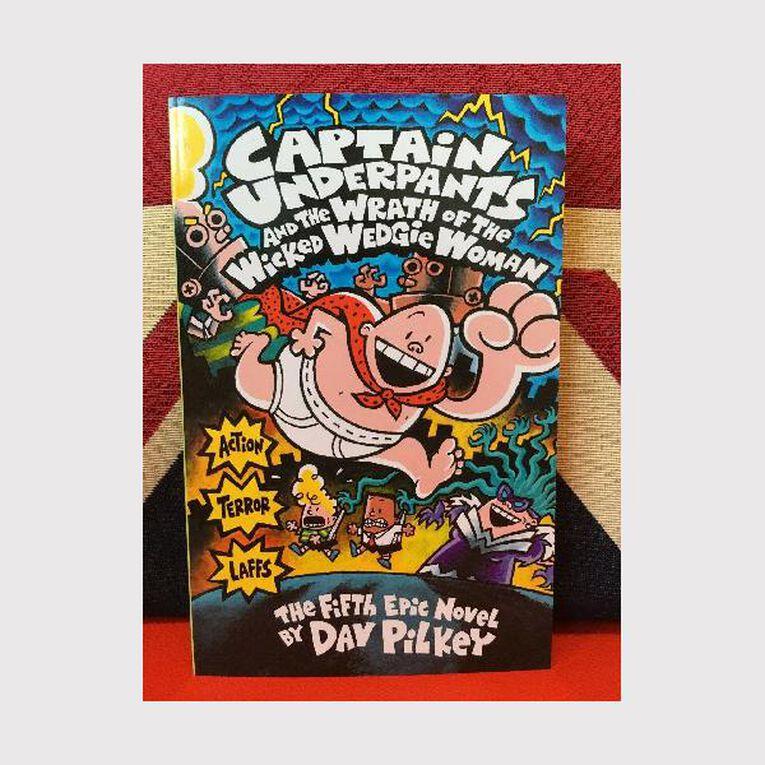 Captain Underpants #  5 - Wrath of Wicked Wedgie Woman, , hi-res