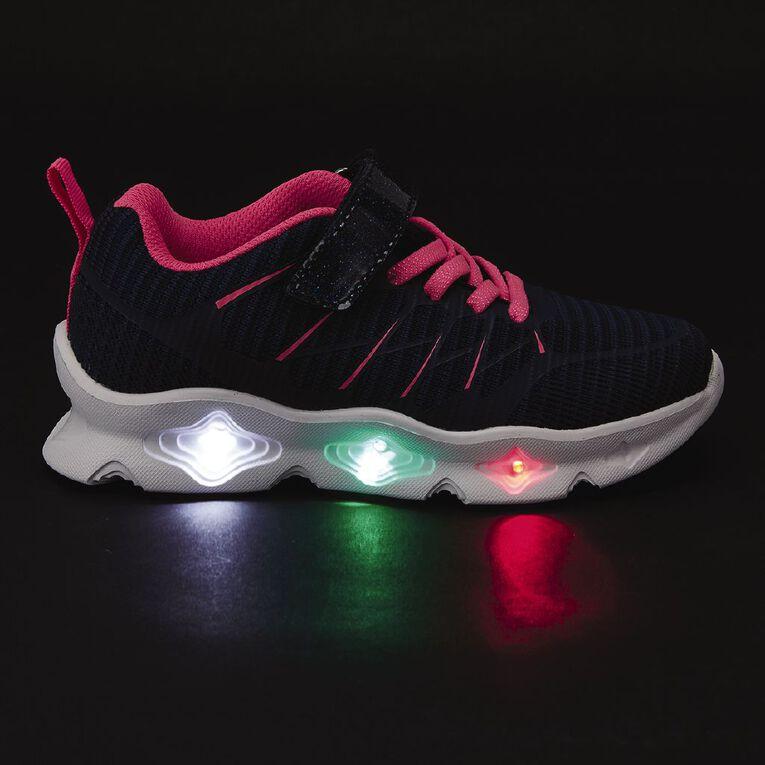 Young Original Kids' Charlotte Light Up Shoes, Navy, hi-res