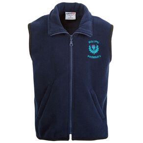 Schooltex Waipu School Polar Fleece Vest with Embroidery