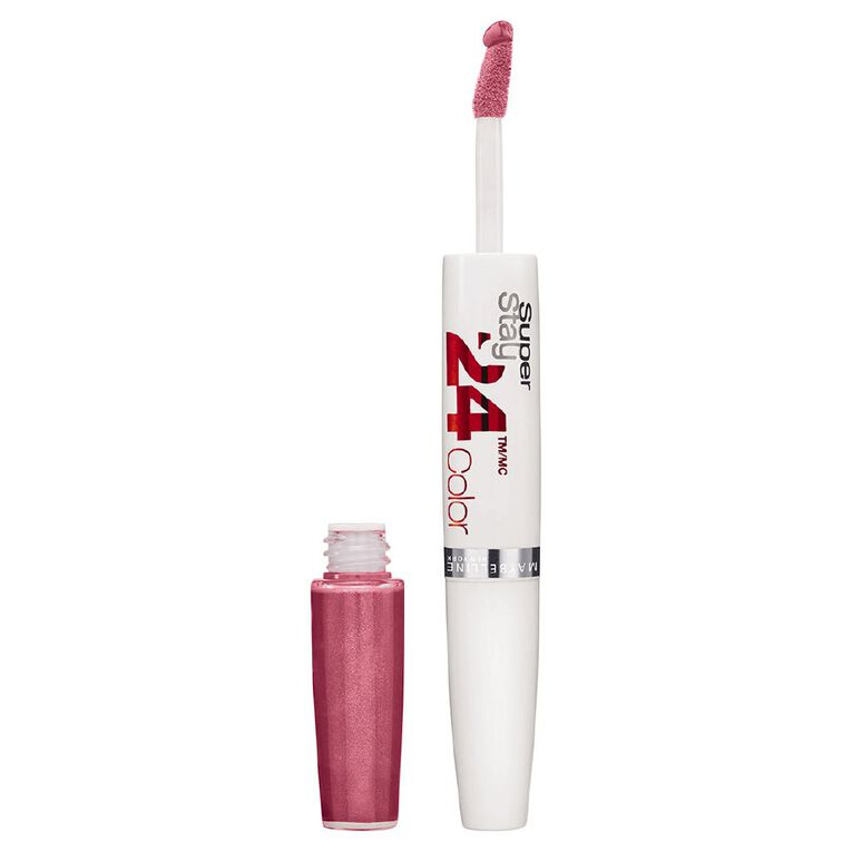 Maybelline Super Stay Lip Colour Carded Perpetual Plum, , hi-res