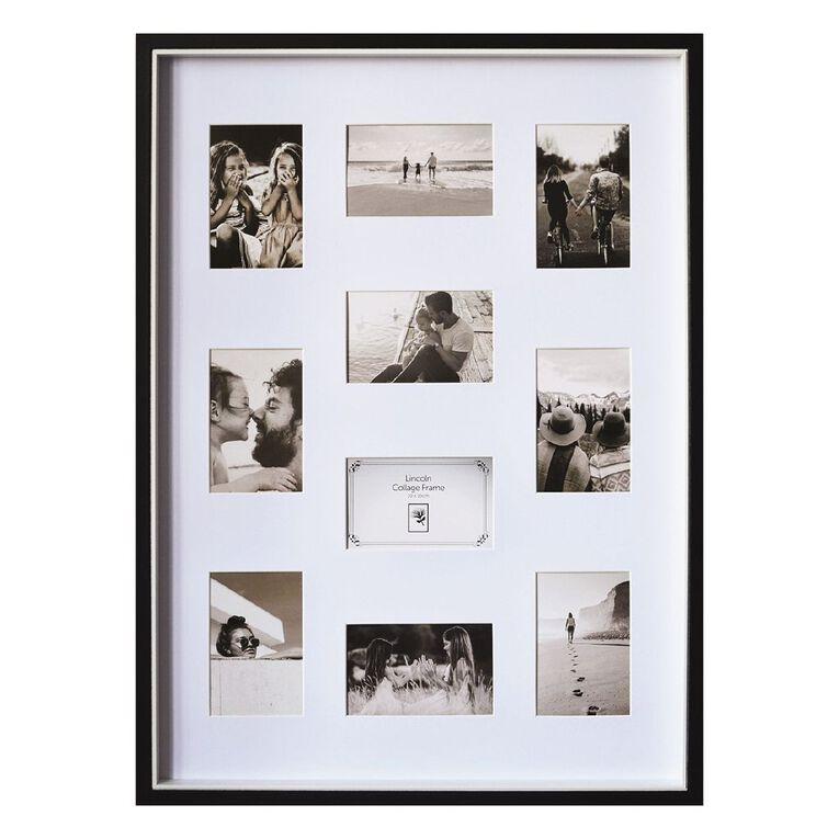 Uniti Two Tone Collage Box Frame Black 50 x 70cm Black, , hi-res