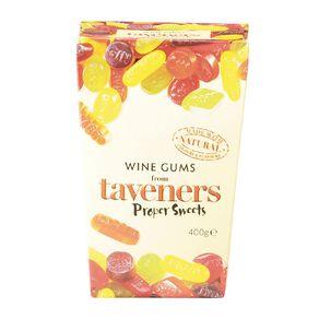 Taveners Wine Gums Box 400g