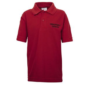 Schooltex Bishopdale Primary Short Sleeve Polo with Embroidery