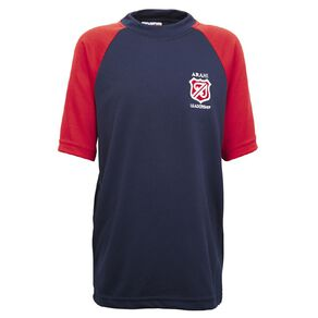 Schooltex Mt Albert PE Shirt with Embroidery