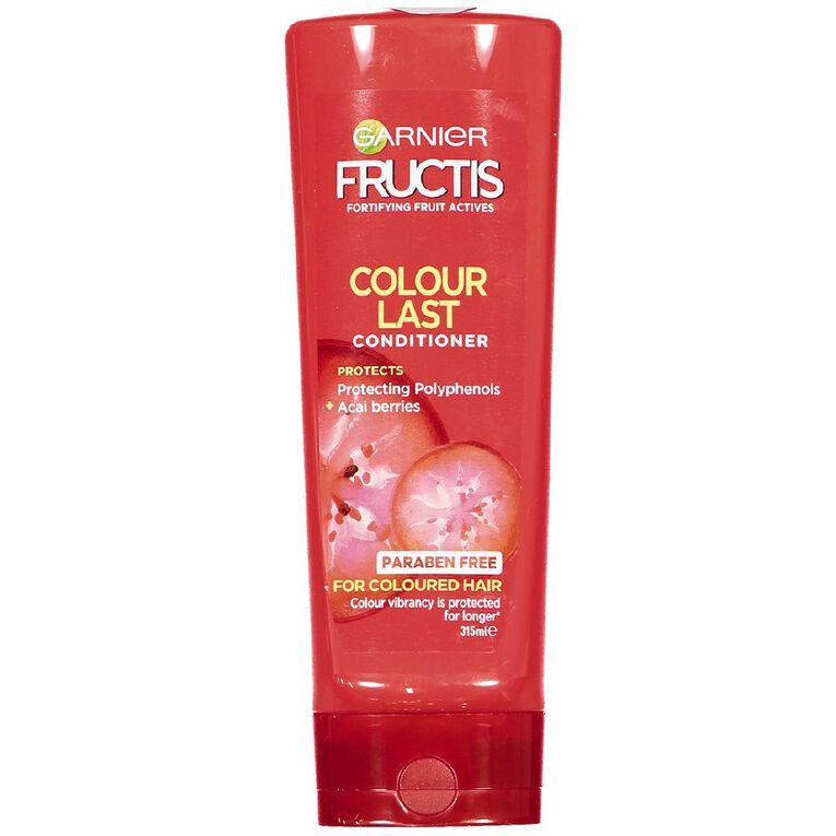 Garnier Fructis Colour Last Conditioner 315ml, , hi-res