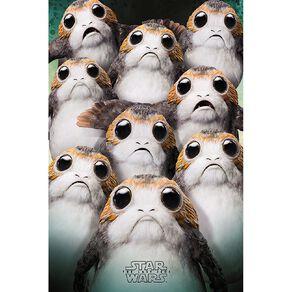 Poster #20 Star Wars Episode 8 Porgs