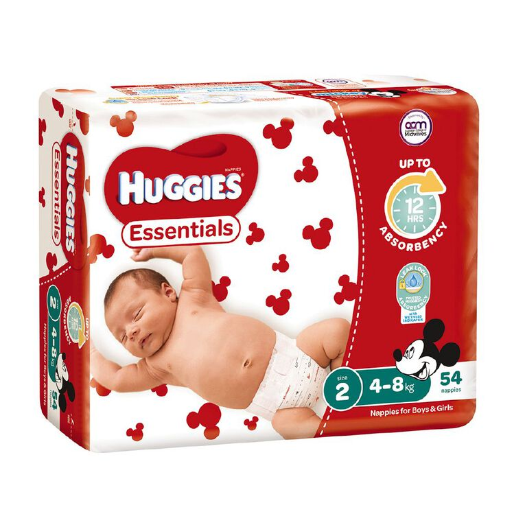 Huggies Essential Nappy Infant 54 pack, , hi-res image number null